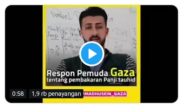 Viral! Video Pemuda Gaza Ingatkan Umat Islam Indonesia jadi Target Pecah Belah dan Adu Domba