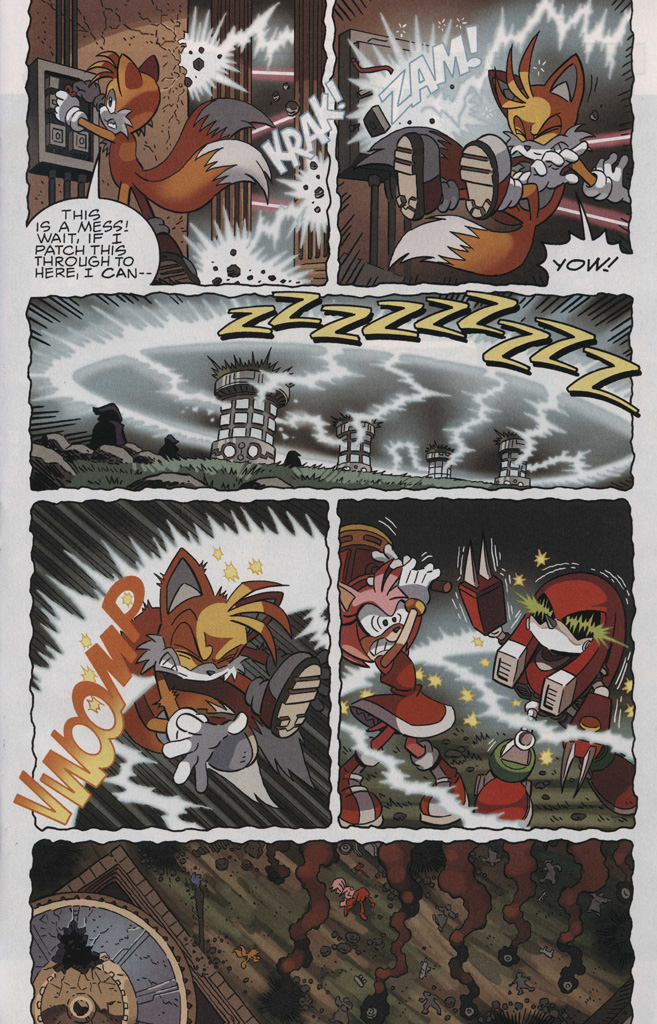 Read online Sonic The Hedgehog comic -  Issue #244 - 15