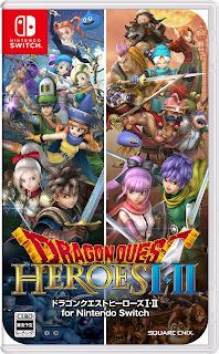 Dragon Quest Heroes I and II Switch NSP XCI NSZ