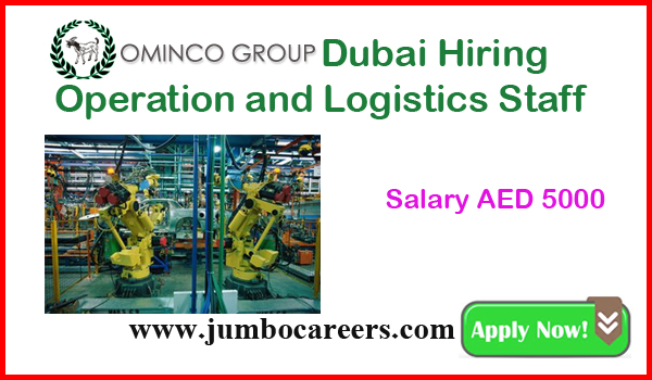 Current Dubai job vacancies with salary, Available jobs in UAE,