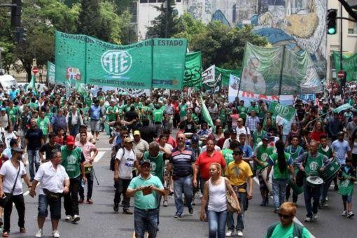 Víctimas de judicialización por protestas sociales de Argentina