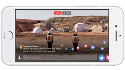 Facebook Live 360 Akan Tersedia Tahun Depan!