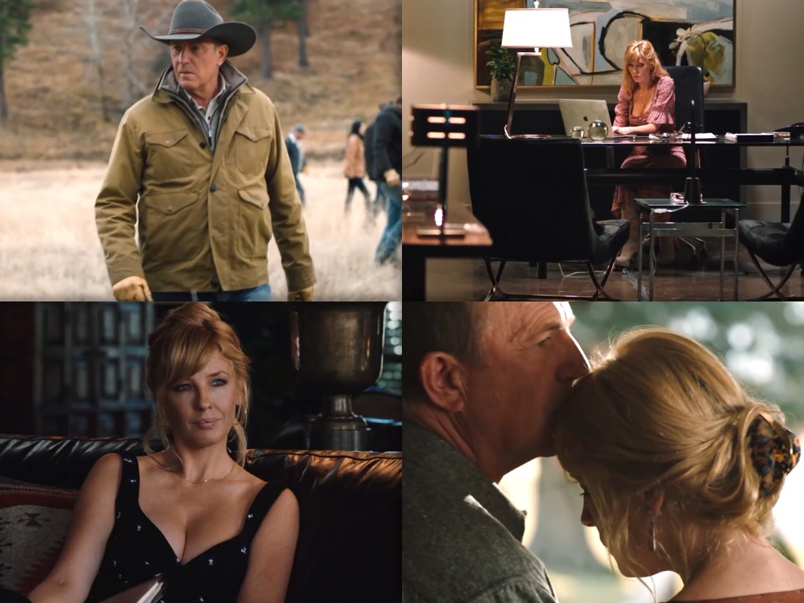Season 2 of Yellowstone starring Kevin Costner and Kelly