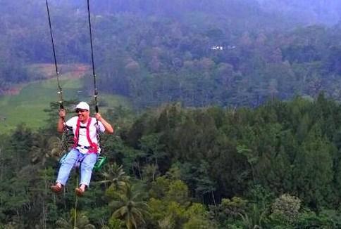 Ayunan Langit Desa Wisata Purwosari Jogjakarta