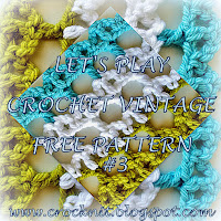 free crochet patterns, vintage, arches, how to crochet,
