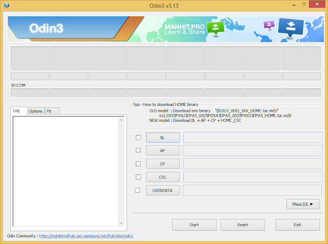 تحميل احدث اصدار Odin3 _ v3. 13.1 لتفليش اندرويد اوريو