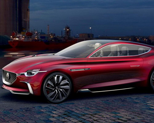 Tinuku.com MG Motor announced E-Motion EV coupe concept at Shanghai Auto Show