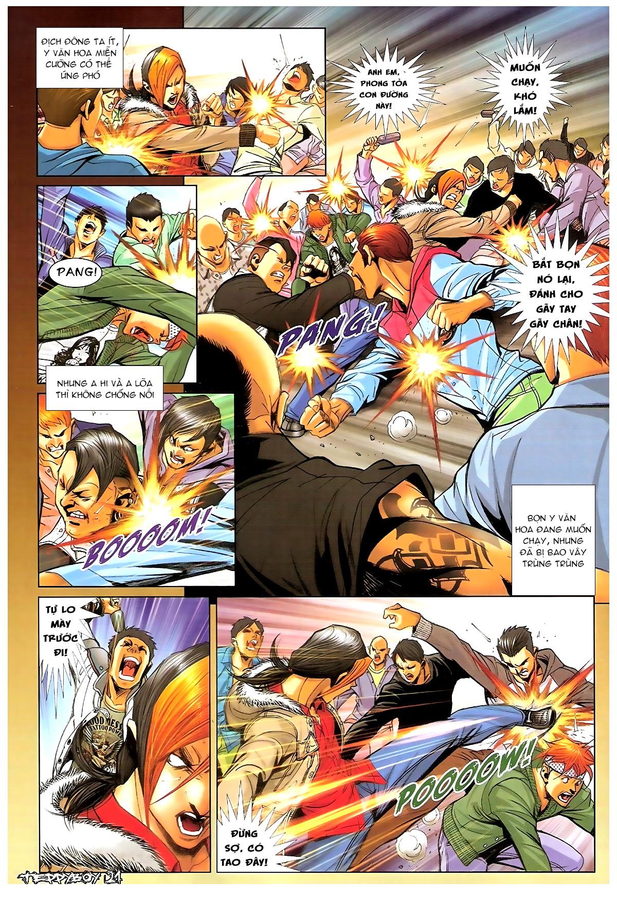Người Trong Giang Hồ - Chapter 1369: Mê trai gặp Sở Khanh - Pic 18