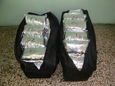Θεσπρωτία: Συνελήφθησαν δύο άτομα με 87 κιλά χασίς