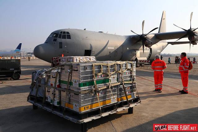 Trasporto aereo sanitario 46 Brigata Aeronautica