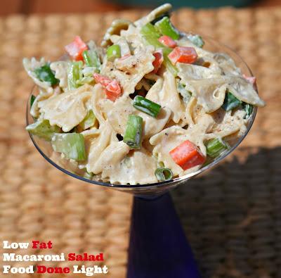 Food Done Light: Low Fat Macaroni Salad