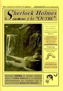 """Sherlock Holmes y lo """"Outré"""", por Alberto López Aroca"""