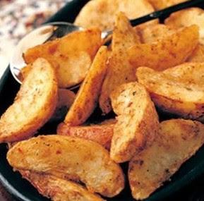 Resep Potato Wedges Goreng Ala KFC Sederhana Spesial Tanpa Oven Renyah Crispy Asli Enak CARA MEMBUAT POTATO WEDGES GORENG ALA KFC