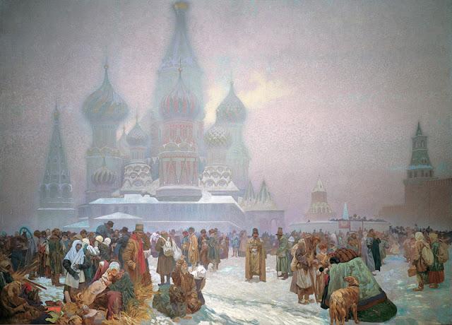 La abolición de la servidumbre en Rusia, Alfons Mucha