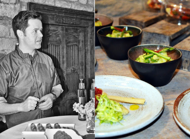 Koch Jens Fischer vom Jungborn Restaurant