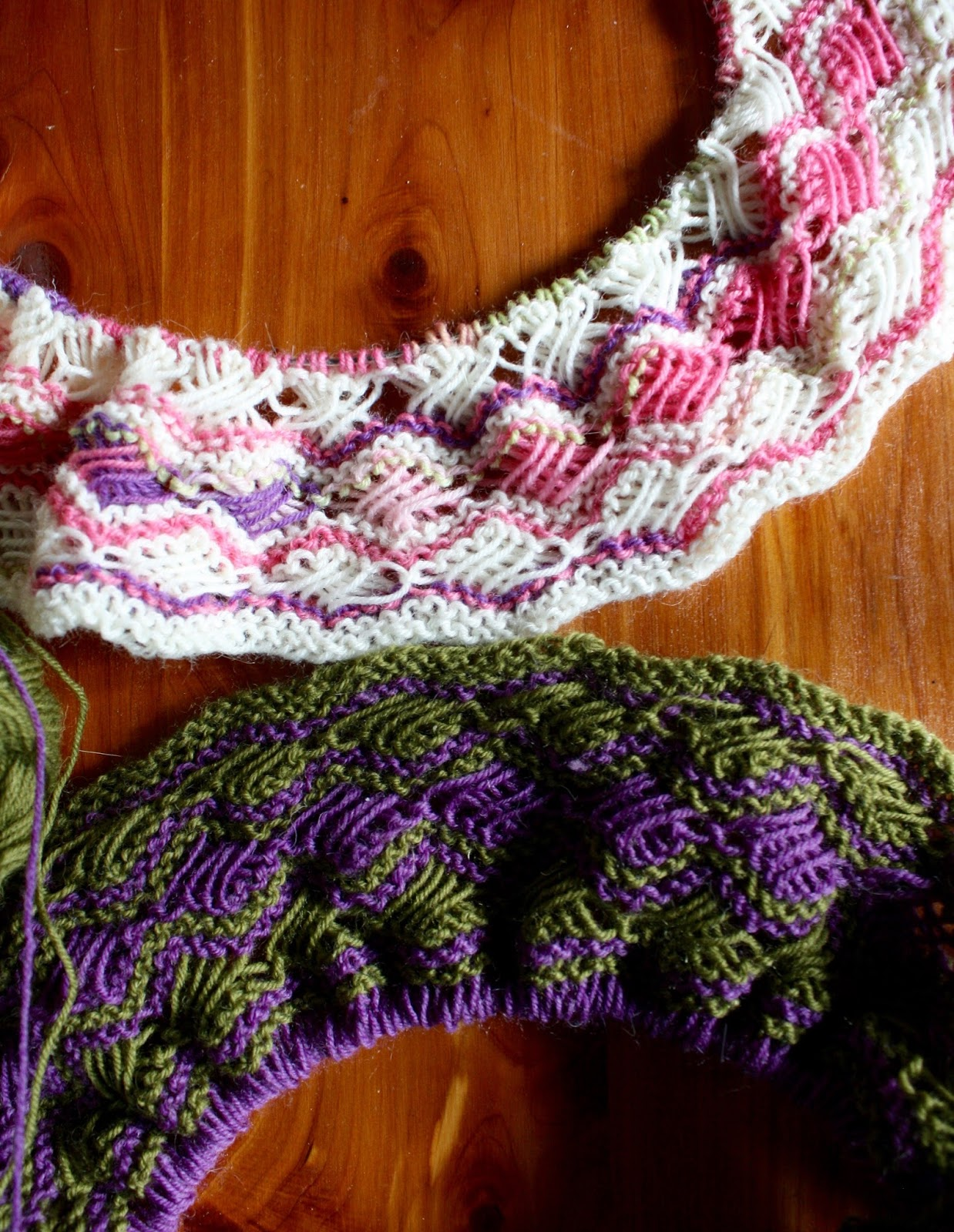 Cross Stitch Knitting Pattern Scarf : QueerJoes Knitting Blog: 08/01/2016 - 09/01/2016