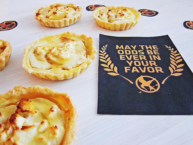 Tartes und Hunger Games Deko