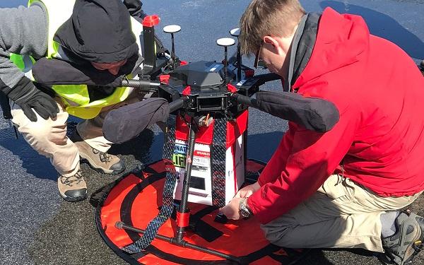 Transplante de rim terá ajuda de 'drones médicos' (Imagem: Reprodução/Joseph Scalea)
