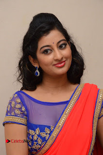 Actress Tejaswini Pictures in Saree at Pratikshanam Audio Launch  0004.JPG