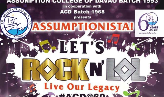 Assumptionista Let's Rock N'Lol (Live Our Legacy) December 7 #ACDat60