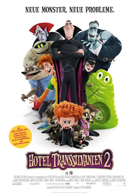 Hotel Transilvânia 2 novo poster