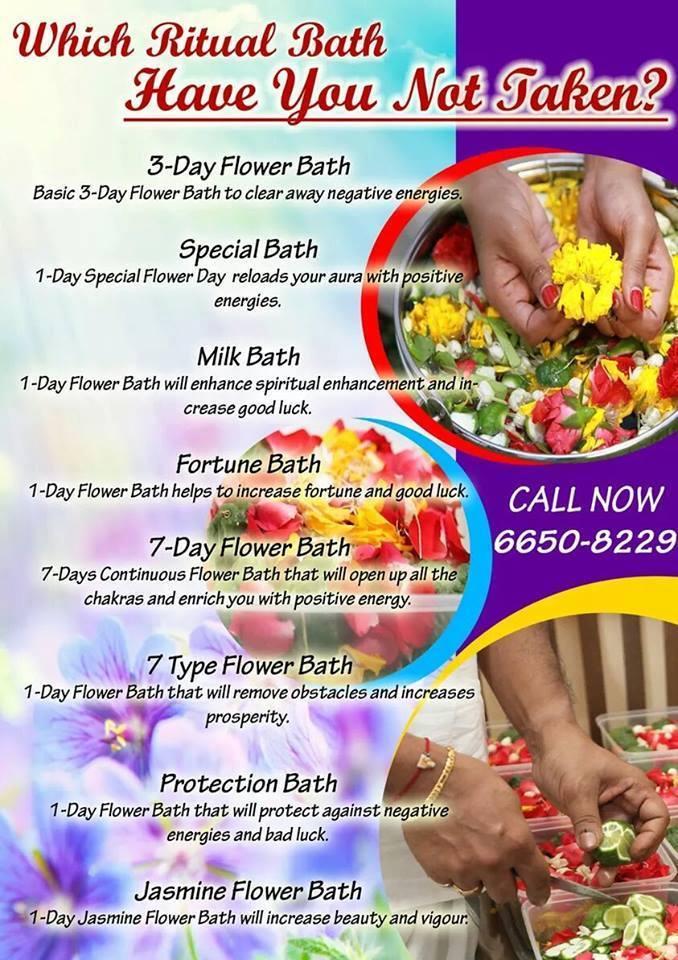 Mandi Bunga(Flower Bath) Specialist