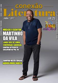 RAPIDINHAS: Edição nº 25 da revista Conexão Literatura + parceria com Rodolfo Melo