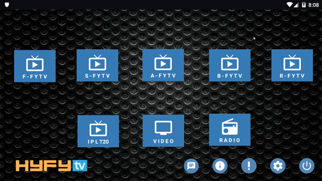 HyFy TV APK: Free Live TV Android Apps, Fire Devices