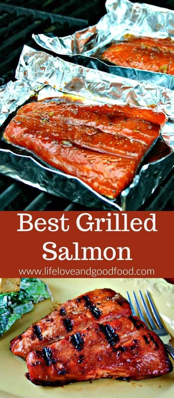 Best Grilled Salmon