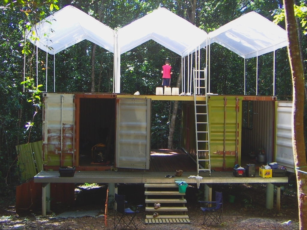 Sustainable Home Design Queensland Shipping Container Homes Earth Science Far North