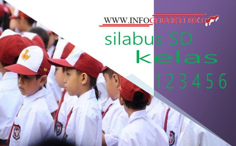 Silabus Sd Kelas 1 2 3 4 5 6 Kurikulum 2013 Edisi Revisi 2018 Infoguruku
