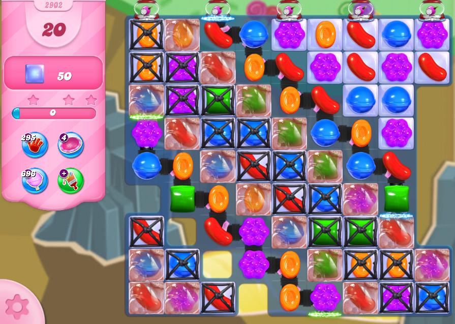 Candy Crush Saga level 2902