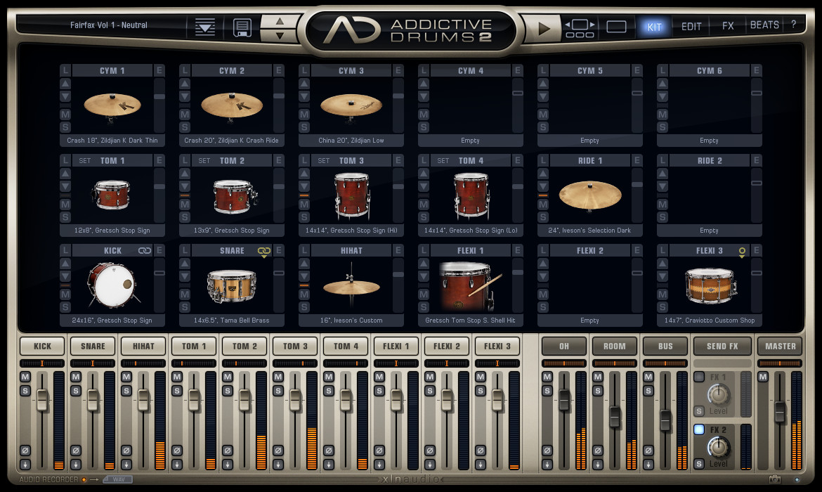 XLN Audio - Addictive Drums 2 v2.1.7 Complete