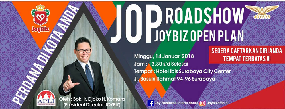 Presentasi JOP Perdana Joybiz di Kota Surabaya
