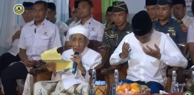 Mbah Moen Doakan Prabowo Di Samping Jokowi, GNPFU Binjai: Itu Keluar Dari Hati Yang Tulus