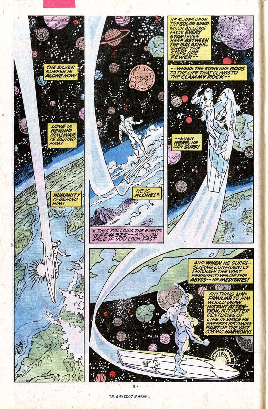 Read online Silver Surfer (1987) comic -  Issue #23 - 4