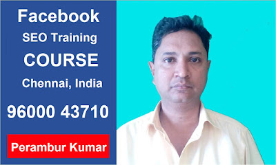 Facebook SEO - Facebook SEO Training Course in Chennai, India
