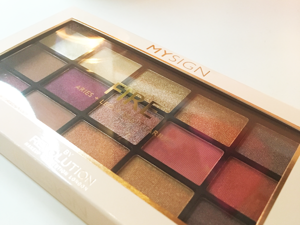Gifted Product Review: My Sign FIRE Palette