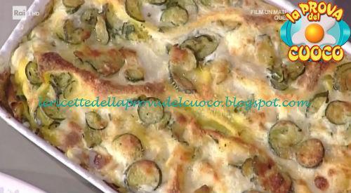 Lasagne di zucchine ricetta Spisni da Prova del Cuoco