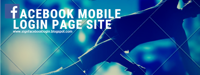 Facebook Mobile Login Page Site