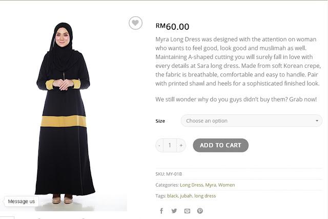 lanafira, butik muslimah online, butik pakaian online, butik online, pakaian muslimah, long dress,