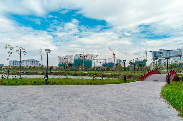 Hồ điều hòa thành phố giao lưu