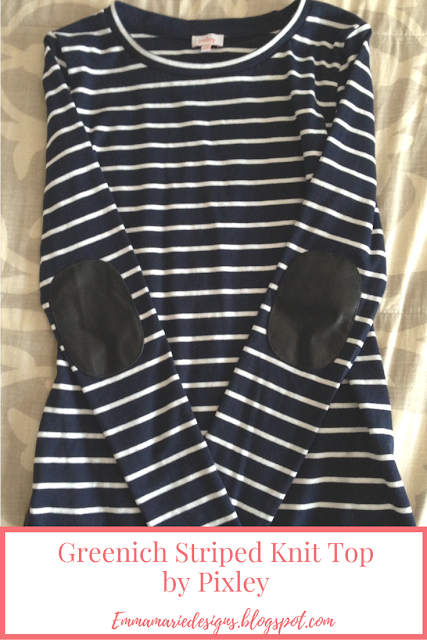 Greenich Striped Knit Top by Pixley @ emmamariedesigns.blogspot.com