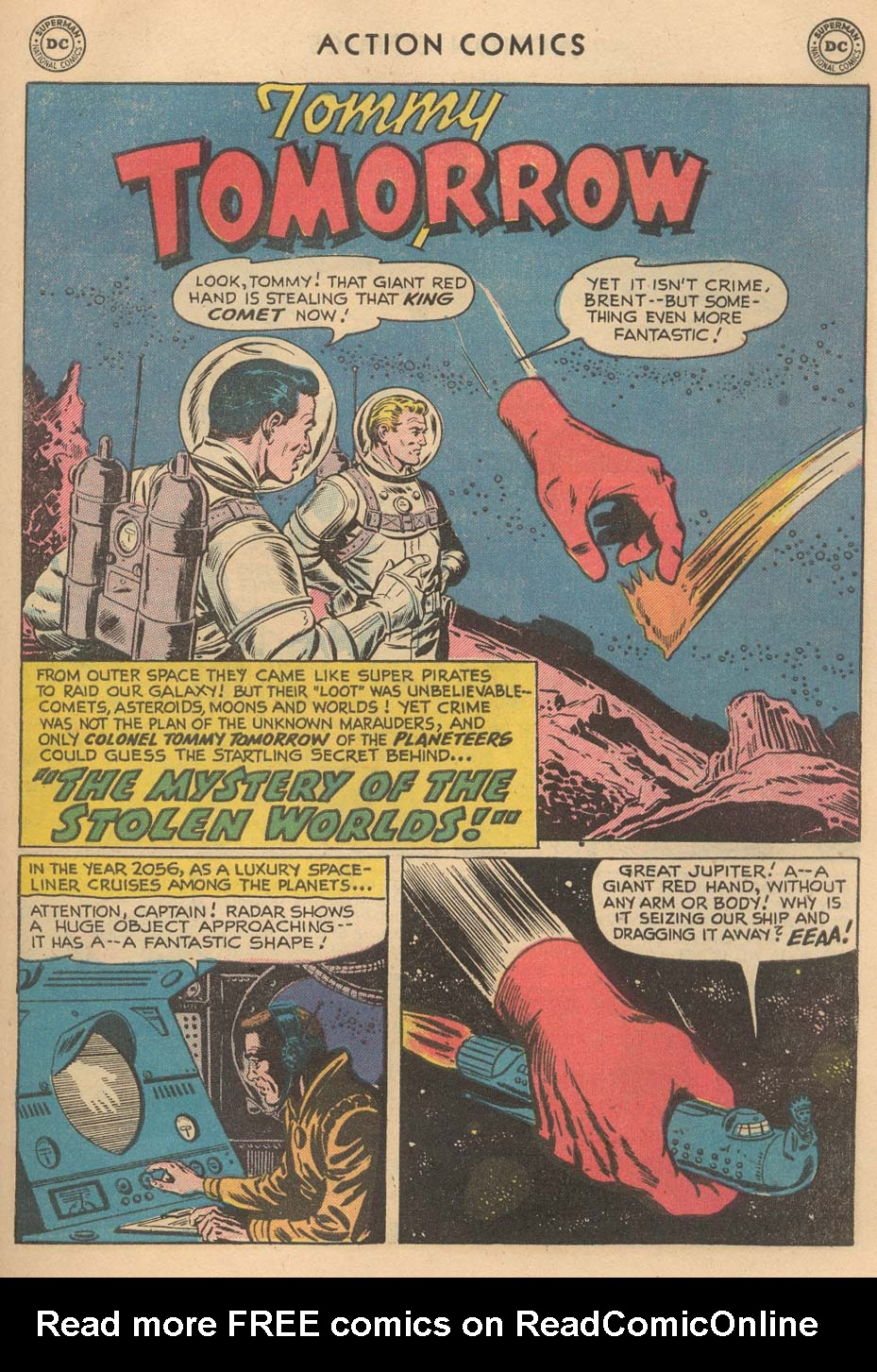 Read online Action Comics (1938) comic -  Issue #215 - 27