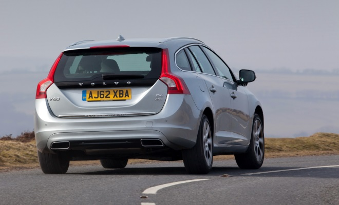 Volvo V60 PHEV plug-in hybrid driven