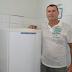 Paulinho Linares doa geladeira para o Velório Municipal