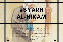 Syarh al-Hikam Ibn 'Athaillah - Bagian 2