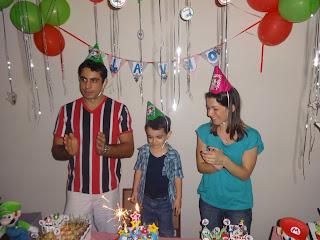 Aniversário 4 Anos - Tema: Mário Kart