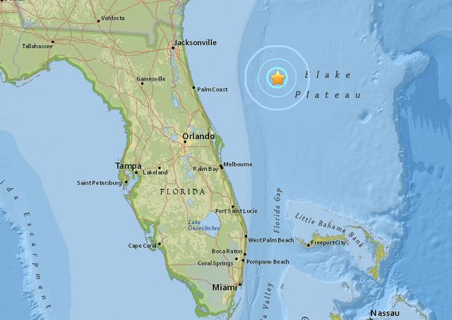 Florida Earthquake 2016
