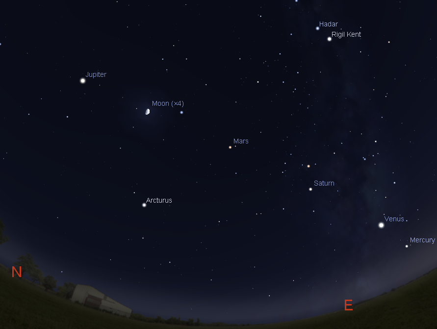 Astroblog: All Five Bright Classical Planets Lined Up in ...